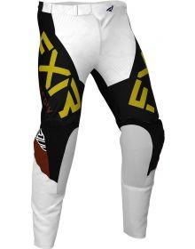 FXR 2020 Helium LE MX Pant White/Black/Rust/Gold