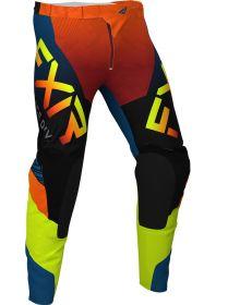FXR 2020 Helium LE MX Pant Slate/Black/Hi-Vis/Rust