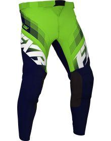 FXR 2021 Clutch MX Pant Midnight/Lime