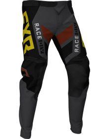 FXR 2021 Podium Off-Road MX Pant Black/Charcoal/Rust/Gold