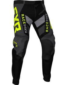 FXR 2021 Podium Off-Road MX Pant Black/Charcoal/Hi-Vis