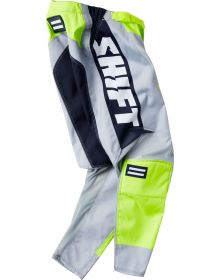 Shift MX 2021 Whit3 Archival SE Youth Pant Yellow/Navy