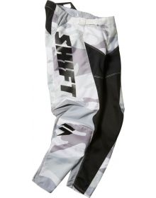 Shift MX 2021 Whit3 G.I. Fro LE Youth Pant Black/Camo