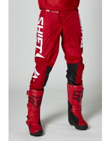 Shift MX White Label Trac Pant Red