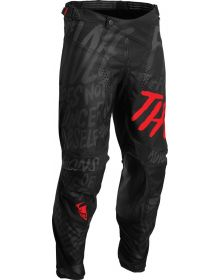 Thor 2022 Pulse Counting Sheep Pants Black/Red