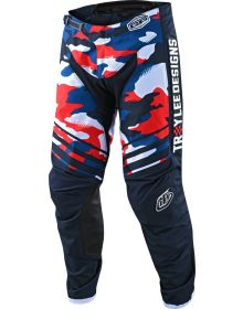 Troy Lee Designs GP Pant Formula Camo Navy/Red