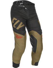 Fly Racing 2021 Evolution DST Pants Khaki/Black/Red