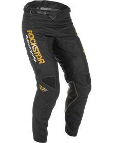 Fly Racing 2022 Kinetic Rockstar Pants Black/Gold