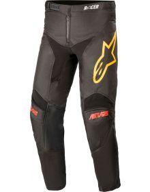 Alpinestars Racer Venom Youth Pants Black/Bright Red/Orange