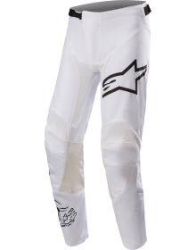 Alpinestars Racer Dialed21 LE Youth Pants White/Black
