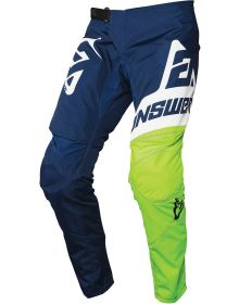Answer 2020 Syncron Voyd Youth Pant Midnight/Hyper Acid/White