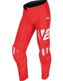 Answer Racing Youth Syncron Merge Pant Answer Red/White