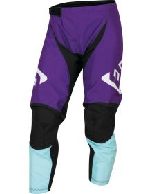 Answer Racing Youth A22 Syncron Prism Pant Purple/Seafoam