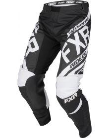 FXR 2019 Clutch Retro MX Youth Pant Black/White
