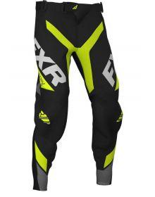 FXR 2020 Revo Pro-Stretch Youth MX Pant Hi Vis/Black/Charcoal