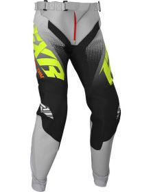 FXR 2020 Clutch Youth MX Pant Black/Gray Fade/Hi Vis/Red