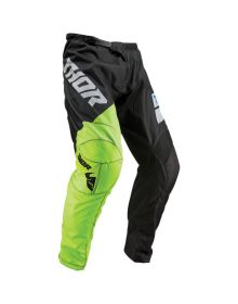 Thor 2019 Sector Shear Youth Pants Black/Acid