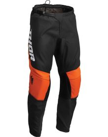 Thor 2022 Pulse Chev Youth Pants Charcoal/Orange