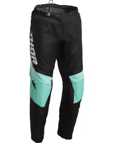 Thor 2022 Sector Chev Youth Pants Black/Mint