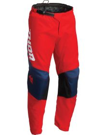 Thor 2022 Sector Chev Youth Pant Red/Navy