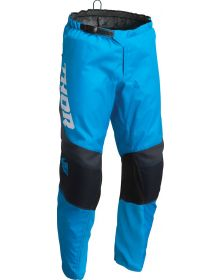 Thor 2022 Sector Chev Youth Pants Blue/Midnight