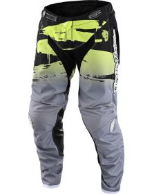 Troy Lee Designs GP Youth Pant Brushed Black/Glo Green
