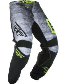 Fly Racing 2019 Kinetic Noiz Youth Pants Black/Hi-Vis