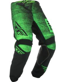 Fly Racing 2019 Kinetic Noiz Youth Pants Neon Green/Black