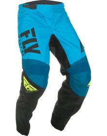 Fly Racing 2019 F-16 Youth Pants Blue/Black/Hi-Vis