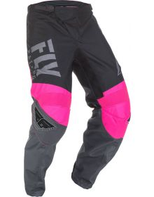 Fly Racing 2019 F-16 Youth Pants Neon Pink/Black/Grey
