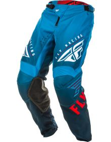 Fly Racing 2020 Kinetic K220 Youth Pant Blue/White/Red