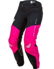 Fly Racing 2020 Lite Youth Girls Pant Neon Pink/Black