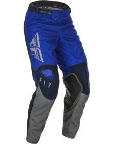 Fly Racing 2021 Kinetic K121 Youth Pants Blue/Navy/Grey