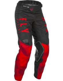 Fly Racing 2021 Kinetic K221 Youth Pants Red/Black