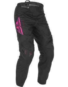 Fly Racing 2021 F-16 Youth Pants Black/Pink