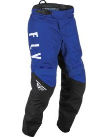Fly Racing 2022 F-16 Youth Pant Blue/Grey/Black
