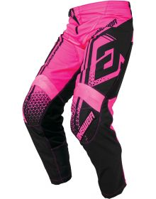 Answer Racing 2019 Syncron Womens Drift Pants Flo Pink/Black