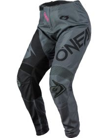 O'Neal 2021 Element Racewear Womens Pant Gray/Pink