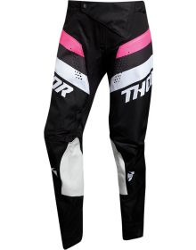 Thor 2021 Pulse Racer Womens Pants Black/Pink