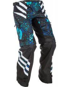 Fly Racing 2018 Womens Kinetic Over The Boot PantsBlue/Black