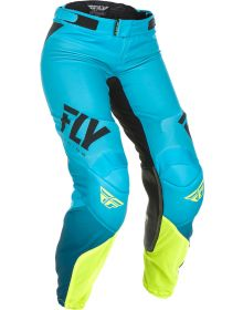 Fly Racing 2019 Lite Race Womens Pants Blue/Hi-Vis
