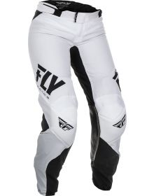 Fly Racing 2019 Lite Race Womens Pants White/Black