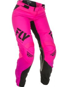 Fly Racing 2019 Lite Race Womens Pants Neon Pink/Black