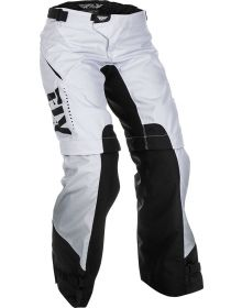 Fly Racing 2019 Kinetic Overboot Womens Pants White/Black