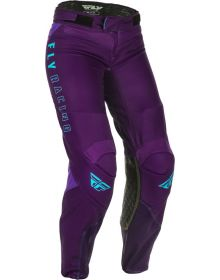 Fly Racing 2021 Lite Womens Pants Purple/Blue