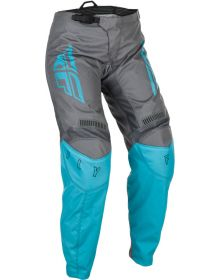 Fly Racing 2021 F-16 Womens Pants Grey/Blue
