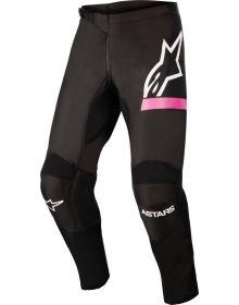 Alpinestars 2022 Fluid Chaser Womens Pants Black/Fluo Pink