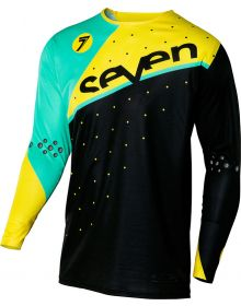 Seven 16.1 Zero Omni Jersey Black/Yellow