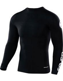 Seven Zero Compression Jersey Staple Black