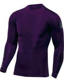 Seven 17.1 Zero Blade Compression Jersey Purple